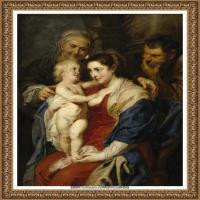 彼得保罗鲁本斯Peter Paul Rubens德国巴洛克画派画家古典油画人物高清图片宗教油画高清大图 (557)