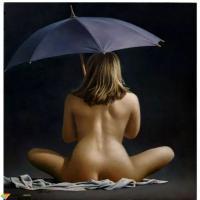 艳而不俗的人体油画,明媚娇美的身体,真好!保罗·凯利作品