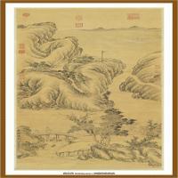 清董邦达秋树云帆轴-中国台湾台北故宫博物院馆藏