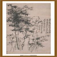 竹石图 纸本 82