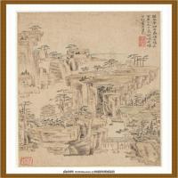 清王渔洋 书画册页纸本 (14)