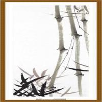竹子图 纸本 48