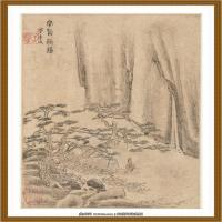 清王渔洋 书画册页纸本 (20)