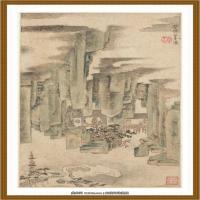 清王渔洋 书画册页纸本 (22)