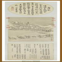清董邦达断桥残雪御题轴-中国台湾台北故宫博物院馆藏