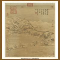 清董邦达断桥残雪轴-中国台湾台北故宫博物院馆藏