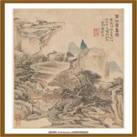 清王渔洋 书画册页纸本 (11)