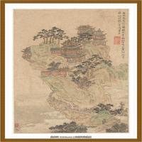 清王渔洋 书画册页纸本 (16)