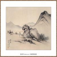 陈少梅-狮子岩图