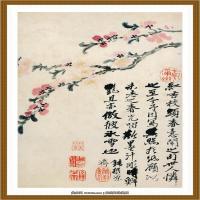 石涛花鸟册 (10)