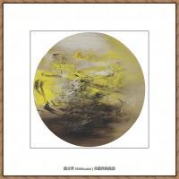赵无极抽象油画作品集 (70)