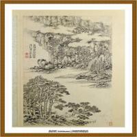王时敏杜甫诗意图) (6)