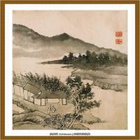 清-石涛-山水十开-07