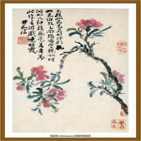 石涛花鸟册 (4)