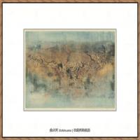 赵无极抽象油画作品集 (2)