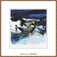赵无极抽象油画作品集 (62)
