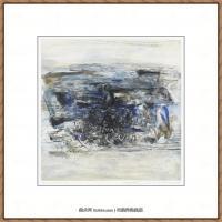 赵无极抽象油画作品集 (67)