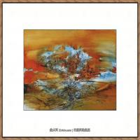 赵无极抽象油画作品集 (81)
