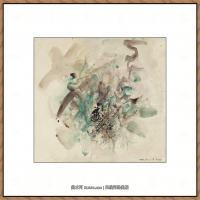 赵无极抽象油画作品集 (58)