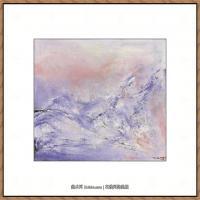 赵无极抽象油画作品集 (39)