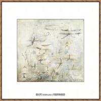 赵无极抽象油画作品集 (54)