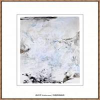 赵无极抽象油画作品集 (11)