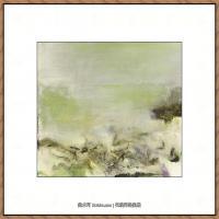 赵无极抽象油画作品集 (48)