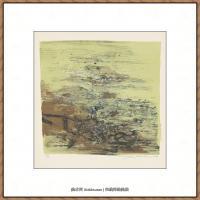 赵无极抽象油画作品集 (60)