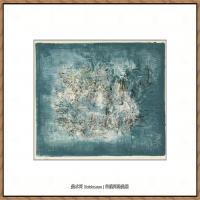 赵无极抽象油画作品集 (25)