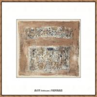 赵无极抽象油画作品集 (26)