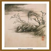 清-石涛-山水十开-06
