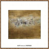 赵无极抽象油画作品集 (95)