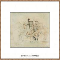 赵无极抽象油画作品集 (1)