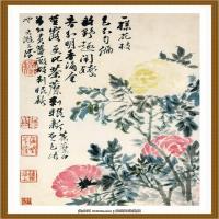 石涛花鸟册 (2)