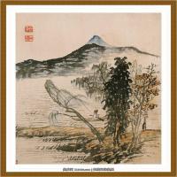 清-石涛-山水十开-09