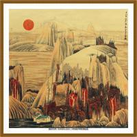 当代画家薛亮绘画作品图片 (95)
