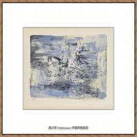 赵无极抽象油画作品集 (23)