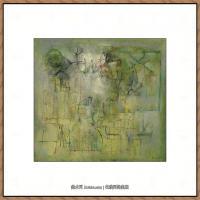 赵无极抽象油画作品集 (47)