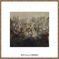 赵无极抽象油画作品集 (86)