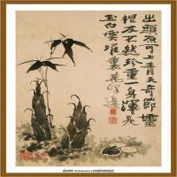 52-清-石涛-山水花卉八开-02-画