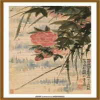 52-清-石涛-山水花卉八开-05-画