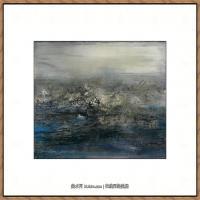 赵无极抽象油画作品集 (7)