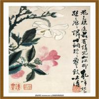 石涛花鸟册 (6)