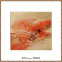 赵无极抽象油画作品集 (53)
