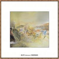 赵无极抽象油画作品集 (34)