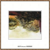 赵无极抽象油画作品集 (15)