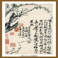 石涛花鸟册 (12)