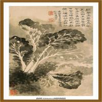 52-清-石涛-山水花卉八开-04-画