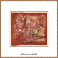 赵无极抽象油画作品集 (21)