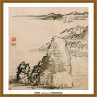 清-石涛-山水十开-03